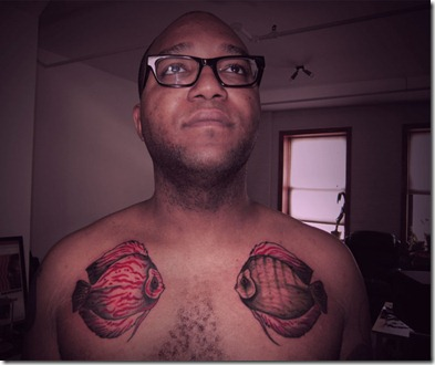 Discus Fish Tattoo